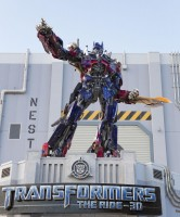 Optimus Prime at Universal Orlando Resort